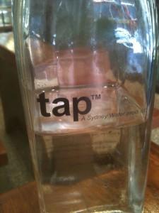 Sydney Water's bright idea - tap water
