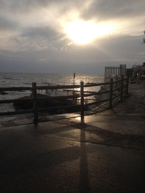 Bronte pool this morning